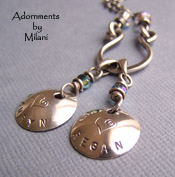 Mommy's Children Necklace -  Personalized Names Jewelry