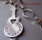 For Chi - Guitar Necklace