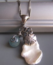 Ala Moana - Ocean Seashell Pearl Necklace Boutique Jewelry