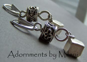 Metal Adornments - Sterling Silver Boutique Earrings