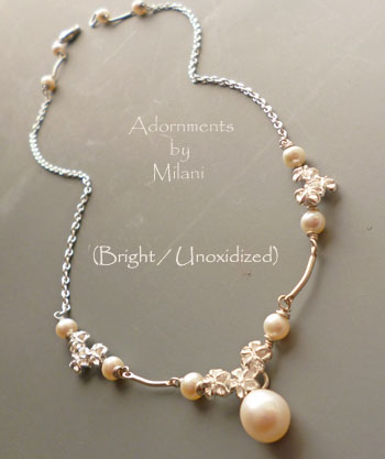 Beach Bridal Necklace Pearls Wedding Bride