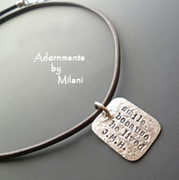 Memorial Necklace for Dad Husband Men Loss of a Loved One Jewelry Personalized