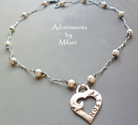 Memorial Necklace for Mom Loss of a Loved One Death Remembrance of a Child Jewelry