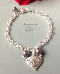 Abuelita Bracelet Abuela Charm Pulsera Esterlina Sterling Silver