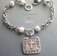 Loss of Husband Bracelet Son Daughter Memorial Jewelry Remembrance Love