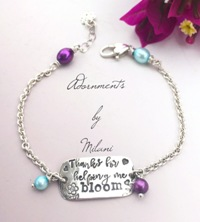 Teacher Appreciation Bracelet Sterling Silver Class School Year Gift